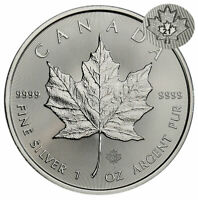 2012 1oz Silver Maple Leaf with Leaning Tower Privy in air-tite CANADA