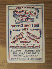 More details for superb collection - 16 morris evans n wales quack cure advertising/display items