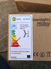 Led downlights ip65 7w Green Lighting White Pro800