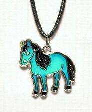 Stimmungskette Pferd stehend Stimmungsschmuck Kinderschmuck Modeschmuck