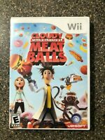 Cloudy With a Chance of Meatballs - Nintendo Wii Kids Game - CIB - Free Ship