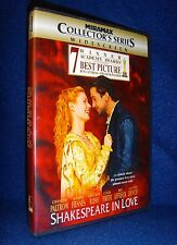 Shakespeare In Love (Dvd, 1999) Mint Disc!•No Scratches•Usa•Out-of- Print•Paltrow