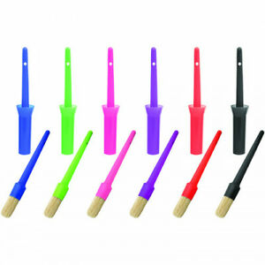 Perry Equestrian Hoof Oil Brushes and Cap 6 Colours