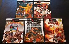 D&D 3.5 2007 D20 XCRAWL City Modules Lot of 5 Modern Roleplaying Game GMGP NEW!