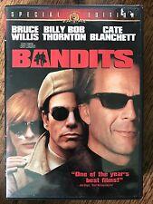 Bruce Willis Billy Bob Thornton BANDITS 2001 Bank Robber Crime Comedy US R1 DVD