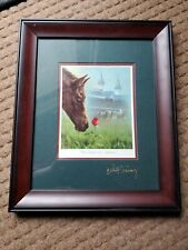 Chance of a Lifetime framed print by Celeste Susany - Old Friends - Charity