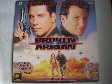 BROKEN ARROW widescreen PAL 1996 John Travolta Christian Slater