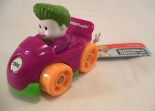 Fisher Price Little People Wheelies Batman Joker Car Action Figure Toys Boy Girl
