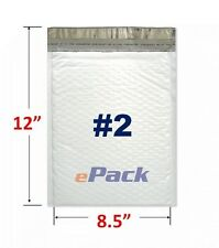 """25- 8.5x12 Poly Bubble Mailers Padded Envelope Shipping  Bags 8.5"""" x 12"""" #2"""