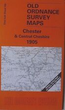 Old Ordnance Survey Map Chester Central Cheshire Northwich Tattenhall 1905 S109