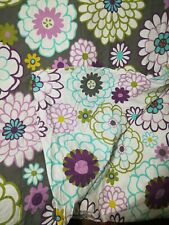 Pottery Barn Teen Duvet Cover, Floral, Full/Queen reversible, matching sham