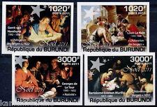 Burundi 2011 MNH 4v Imperf, Christmas, Religion (O2n)