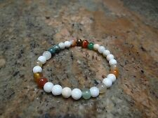 Multi Gemstone 6mm Stretch Bracelet