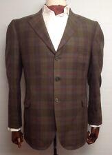 Superb DAKS Pure Wool Checked Hacking Jacket Size 40 Reg RRP £375