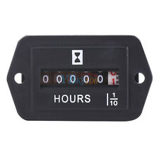 Mechanical Hour Meter Timer Gauge For Diesel Gasoline Engine Generator HM002