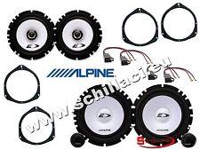 500l-2 6 altavoces para coche 500X 500 X cinquecento Alpine
