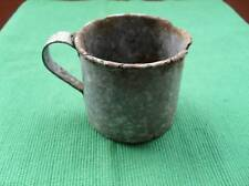 WWII Russian Small Soldier's Drinking Cup, Battlefield Relic from Narva Front