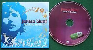 James Blunt Back to Bedlam inc You're Beautiful & Wisemen + CD