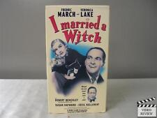 I Married a Witch VHS Veronica Lake, Fredric March, Robert Benchley