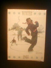 Four Seasons Calendar Grandpa & Me 1948 Norman Rockwell