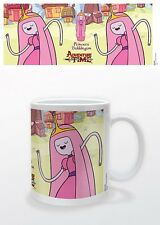 ADVENTURE TIME PRINCESS BUBBLEGUM MUG NEW GIFT BOXED 100 % OFFICIAL MERCHANDISE