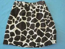 CrewCuts Girl SZ 4 5 Skirt Giraffe Print Linen J Crew Cuts Brown Animal