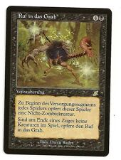 MTG  ** CALL TO THE GRAVE **  Magic Scourge German