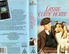 LASSIE COME HOME - McDowall & Taylor - VHS - New & Sealed - Never played!! - PAL