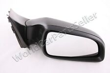 Electric Black Convex Heated Right Wing Side Mirror Fits OPEL Astra H 2004-2009