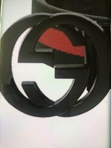 Gucci Leather Belt Interlocking GG 105 Cms. New Receipt Free Post !!