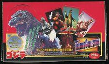 UNOPENED 1995 Japanese Godzilla Trading Cards Collection BOX