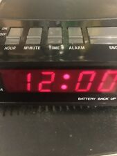 EQUITY Digital LED Alarm Clock No. 1010