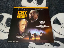 Cry the Beloved Country Letterbox Laserdisc LD James Earl Jones Free Ship $30