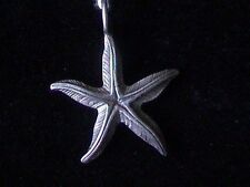 Sterling starfish pendant or charm