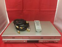 Samsung DVD-V4600A DVD/VCR Player VHS HiFi Video Cassette Recorder Remote Cable