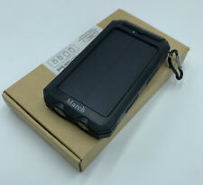 Portable Power Bank Solar Powered 8000mAh Outdoor Charger