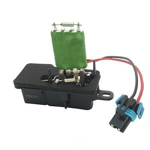 Heater Blower Motor Resistor for Chevrolet Express GMC Savana G30 89018770 RU51