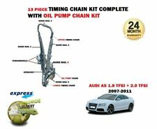 FOR AUDI A5 2.0 TFSI QUATTRO CDNC CDNB 2008-2011 TIMING CHAIN SET + OIL PUMP KIT