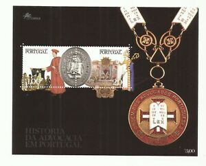 Portugal 2003 - History of Advocacy S/S MNH