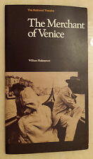 THE NATIONAL THEATRE: LAURENCE OLIVIER JIM DALE in THE MERCHANT OF VENICE