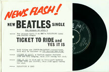 "the BEATLES Ticket to Ride / Yes it is (DUTCH PS PARLOPHONE R 5265 VINYL 7"")"