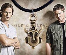 Necklace Amulet Bronze Supernatural Dean Winchester Pendant Necklace Gold