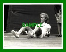 ORIGINAL PRESS PHOTO - VITAS GERULAITIS v TOMAS SMID WIMBLEDON 1982
