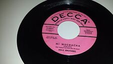 """MILLS BROTHERS Mi Muchacha / That's All I Ask Of You DECCA 29621 PROMO 45 7"""""""