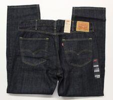 Men's Levi's 505 Regular Fit Blue Jeans (005050059) Tumbled Rigid - 38x30