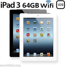 Apple iPad 3 64Go Wi-Fi Version Great Condition,Garantie de 60 jours,Blanc