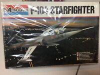 Monogram F-104 Starfighter  1/48 Scale Model Kit