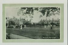PC PRINT Tennis Lawn, Port Sunlight. LEVER BROTHERS LIMITED. CHESHIRE.