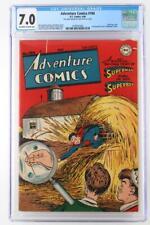 Adventure Comics #104 - CGC 7.0 FN/VF - DC 1946 - 2nd Superboy Cover!