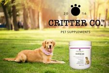 Critter Co Calming Aid Dogs L-Tryptophan Soft Chew Treat 100x Separation Anxiety